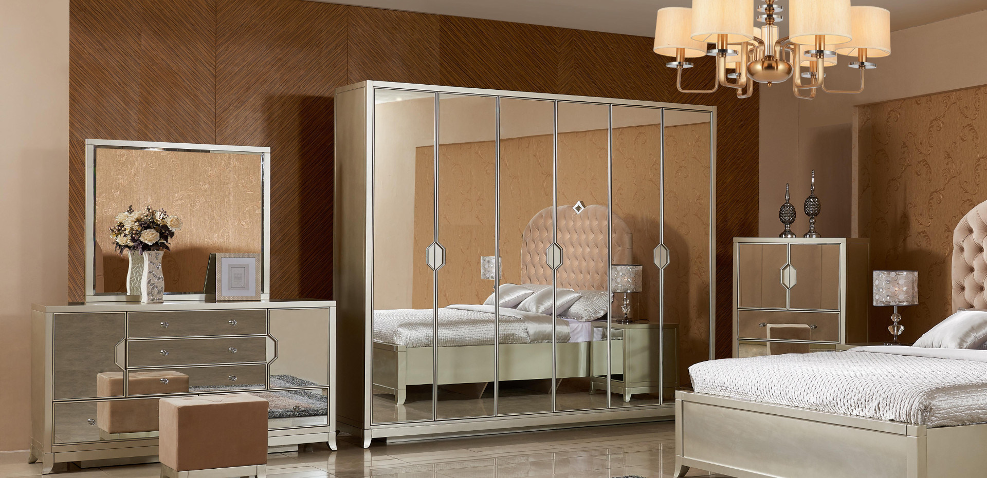 Bed Room Decorative Mirror Bedroom Set Furniture China Bed Bedroom Made In China Com