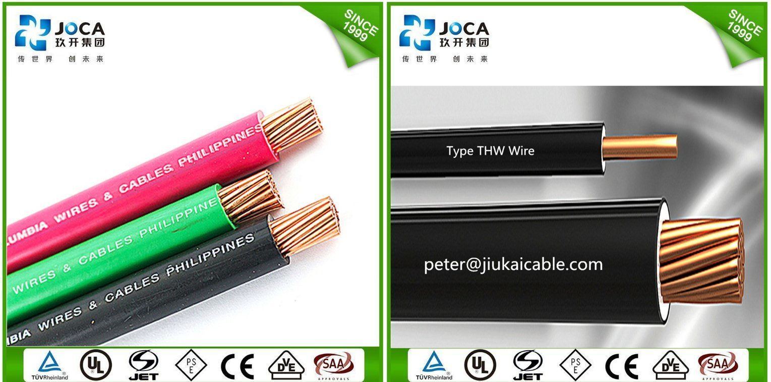 Astm Standard 600v Electric Thw Cable Wire Awg10 China Pvc Insulated Copper Awg Size Tw Thwn Thhn Electrical Cablewire More Pictures For