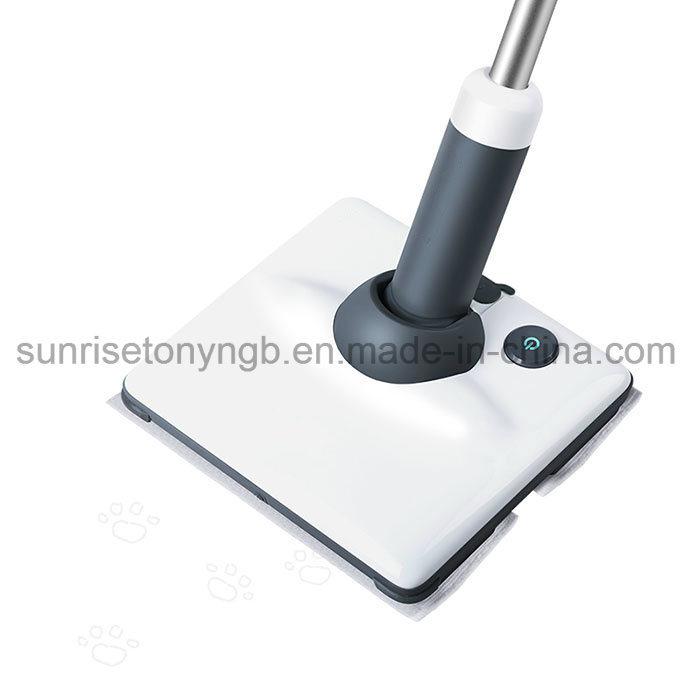 longue poign e de nettoyage en microfibre de plancher triangle vadrouille vapeur lectrique. Black Bedroom Furniture Sets. Home Design Ideas