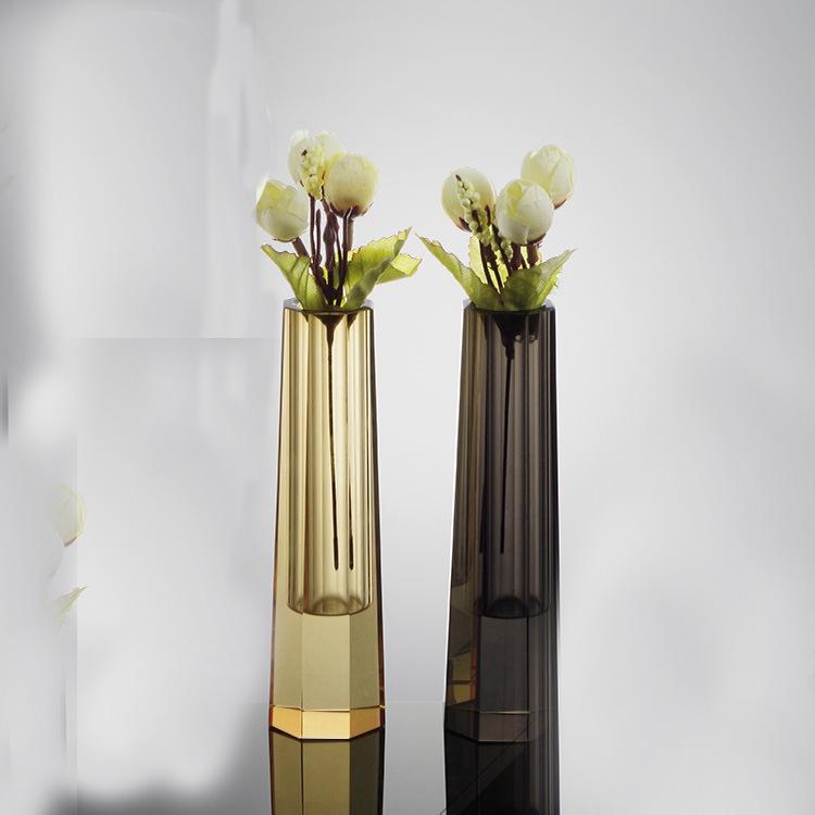 La decoraci n de cristal jarr n de flores la decoraci n for Jarron cristal decoracion
