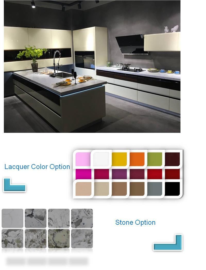 Diseño de cocinas modulares Home Panadería Muebles Armarios de ...