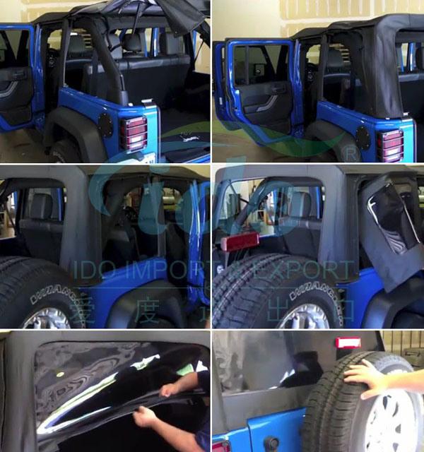 Capota de lona para Jeep Cj7 1976 - 1986 – Capota de lona para Jeep ...