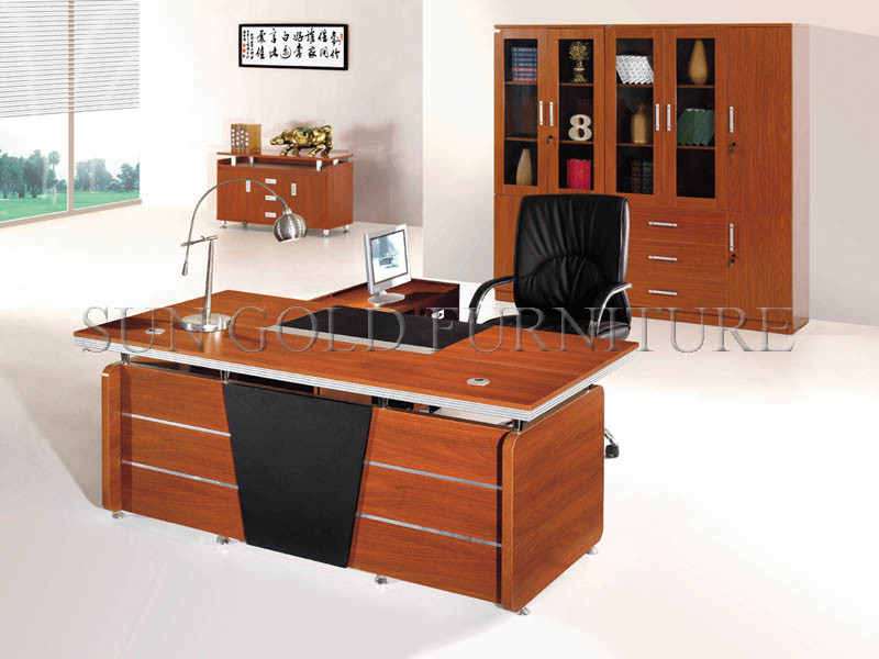 Hot Selling Office Depot Ordinateur Desk Boss Manager Working Desk