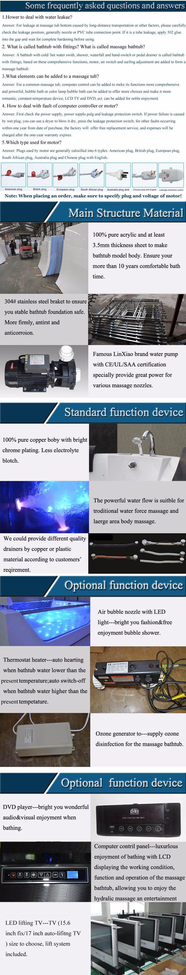 Foshan Manufacturer Pure Acrylic Sheet Big Size Corner Bathtub Dimensions China Bath Tub Bathroom Tub Made In China Com