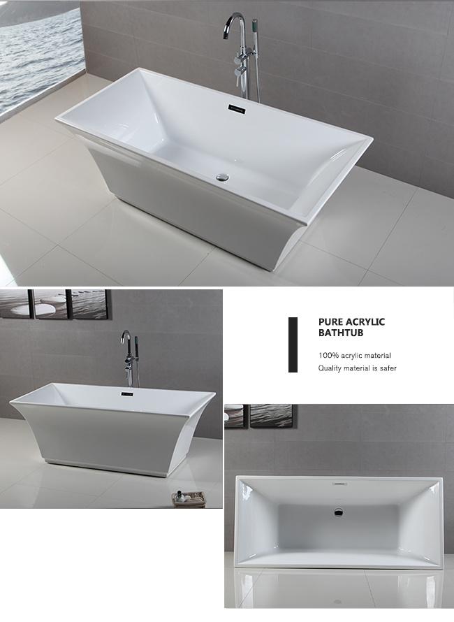 Smart Expo - Upc America Standard Soaking Pedestal Freestanding Bath ...