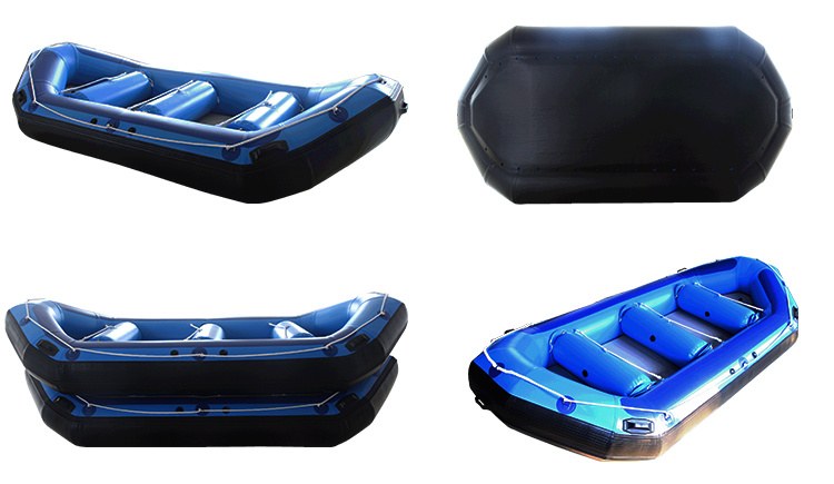 Air Deck Inflatable Boat Inflatable Rafting Boat White Water Boat