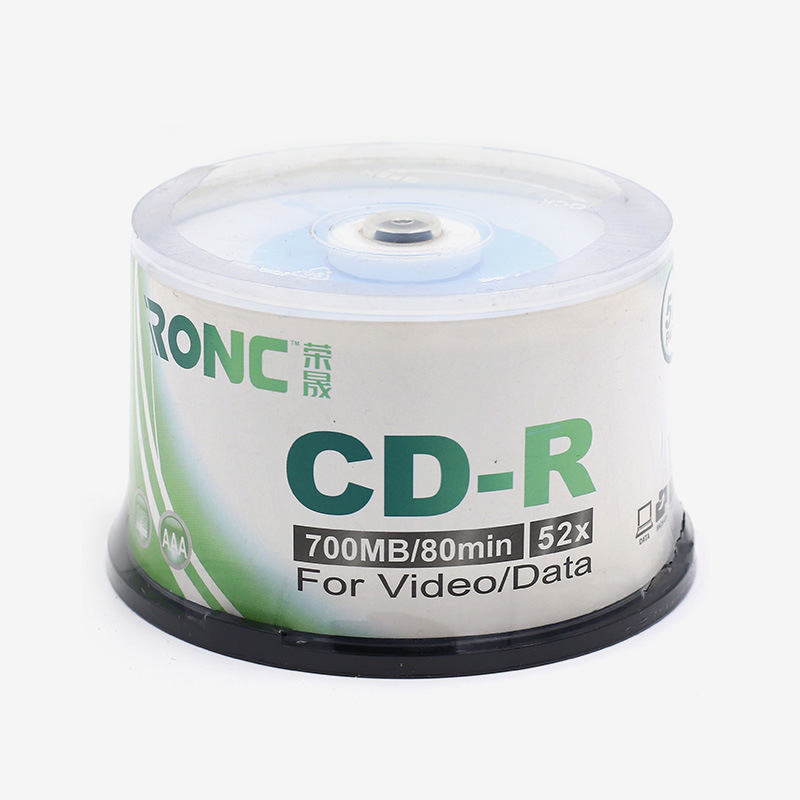 image about Printable Cds identified as [Warm Product] Blank CD-R White Inkjet Printable CD-R 700MB 80min