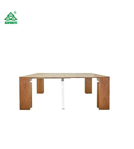 Moderne Grote Eettafel.De Verlengbare Ruimte Moderne Eettafel Van De Besparing De Houten