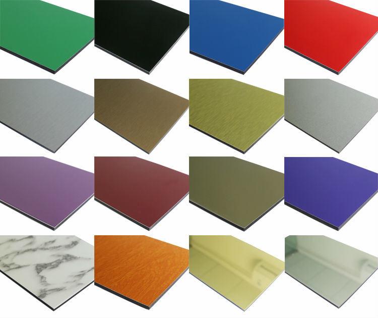 Competitive Price ACP Megabond PE PVDF Aluminium Composite Panel
