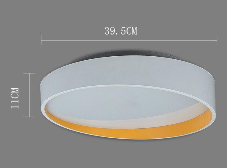 Plafoniere Da Soffitto Rotonde : Lampade rotonde del soffitto led di modo w per il salone