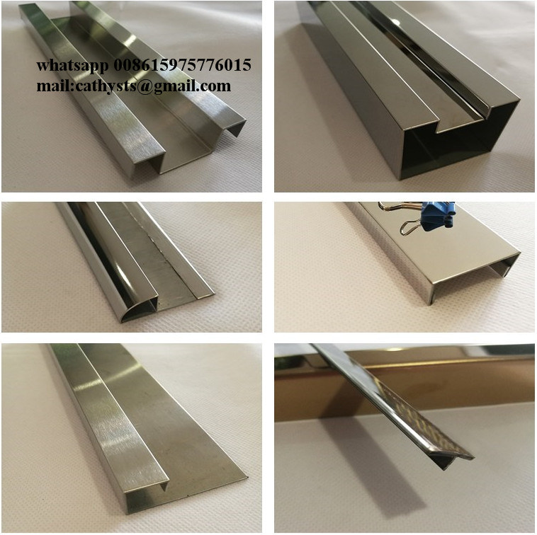Stainless Steel Hairline Finish Flat Bar In Titanium Color For Wall Panels Metal Trimmings China Stainless Steel Trim Stainless Steel Bar Made In China Com