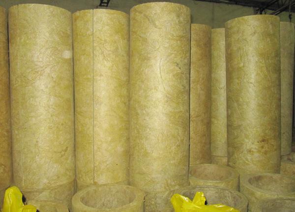 Tubo delle lana di scorie della vetroresina isolamento for Mineral wood insulation