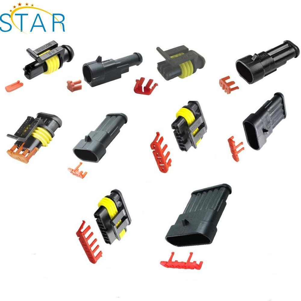 Wondrous 2 Pin Waterproof Electrical Cable Auto Wire Harness Connector 282080 Wiring Cloud Hisonuggs Outletorg