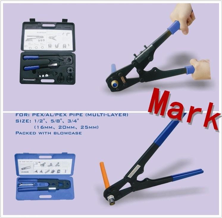 Strumento di piegatura pratico per il tubo di mulitilayer for Impianto idraulico pex vs rame