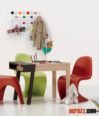 vitra stackable kids children baby s panton pantone junior chair