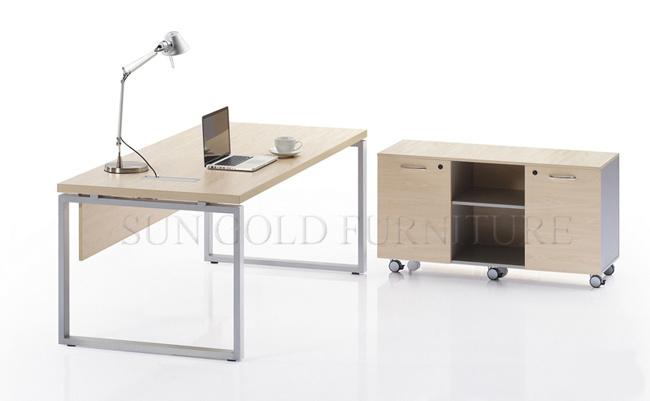 Ordinateur moderne photos table châssis métallique de meubles de