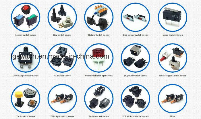 16A250VAC Ss24 Rocker Switches