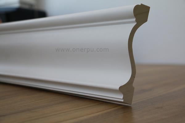 Escalera Simple de poliuretano PU Trim de moldeo de moldeo de ...