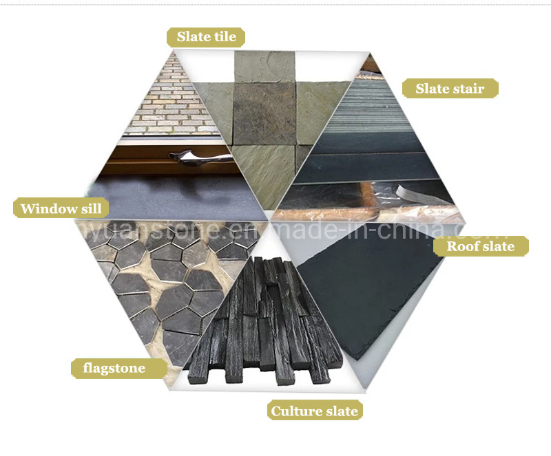 Black Slate Roofing Tiles Roof Slate China Roofing Material Black Slate Made In China Com