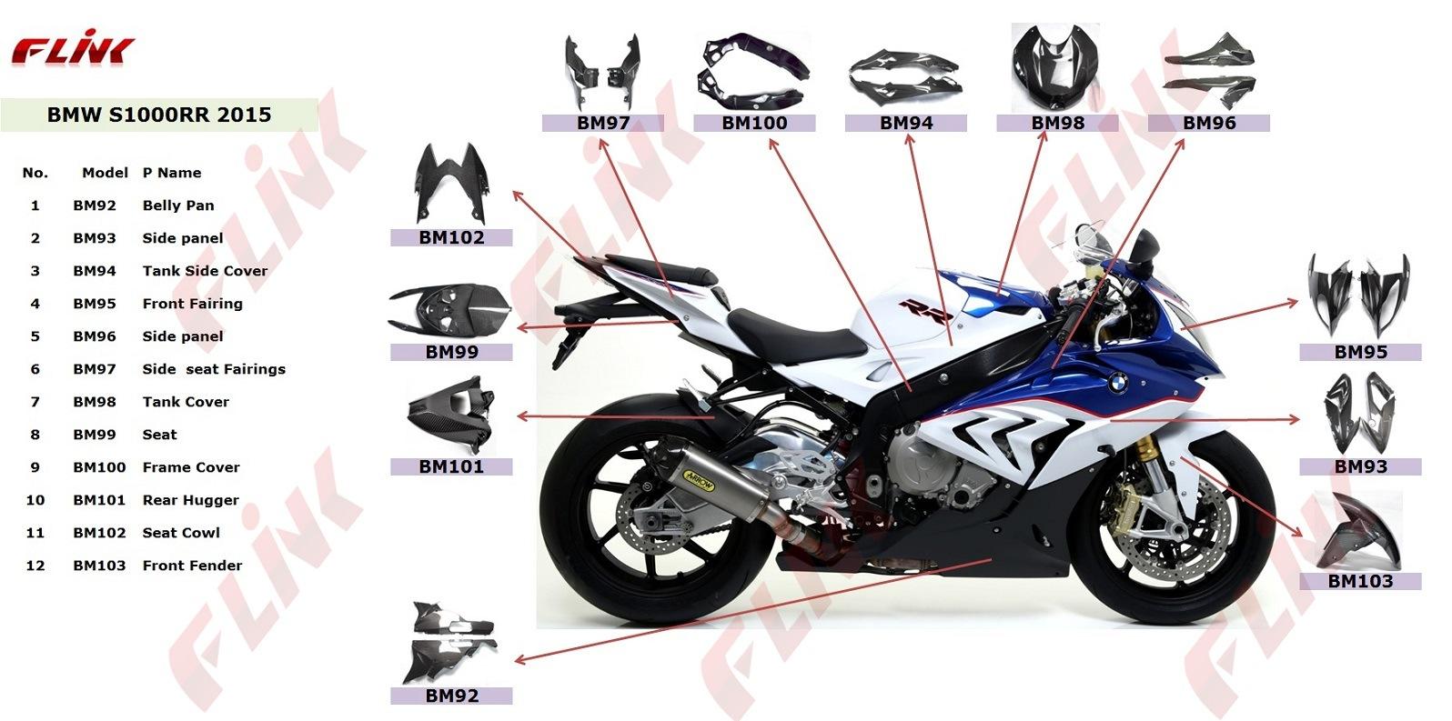 Kawasaki Zcarbon Fiber Parts