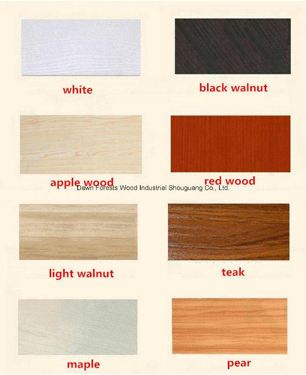 Teak Maple Pear Color Combination Wardrobe China Wardrobe