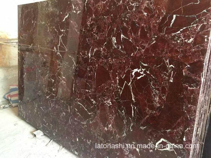 Pavimento Marmo Rosso : Marmo rosso polished della cina rosso levanto per le mattonelle di