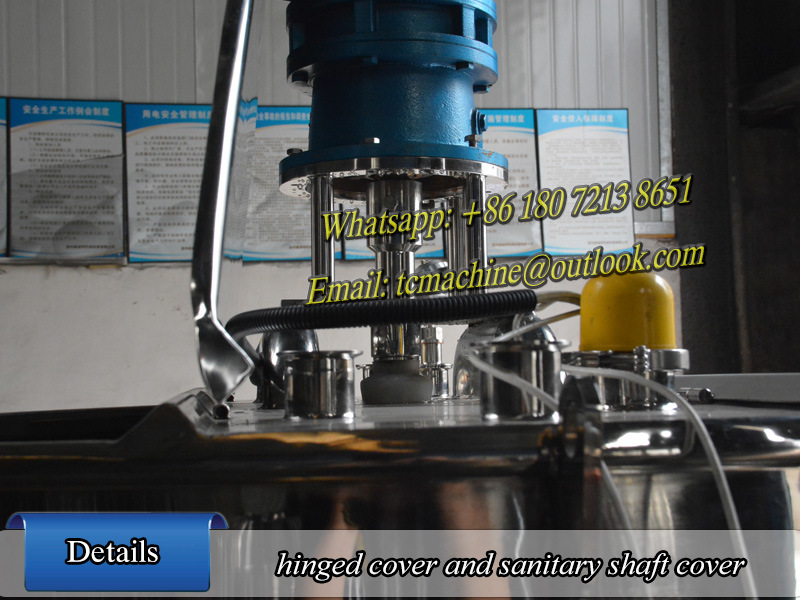 200l Electric Heating Pasteurization Equipment Milk