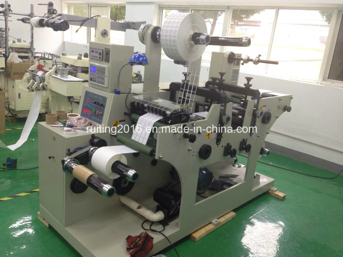 Rtqh-320 Rotary Die Cutter with 2 Station and Turrent Rewinding
