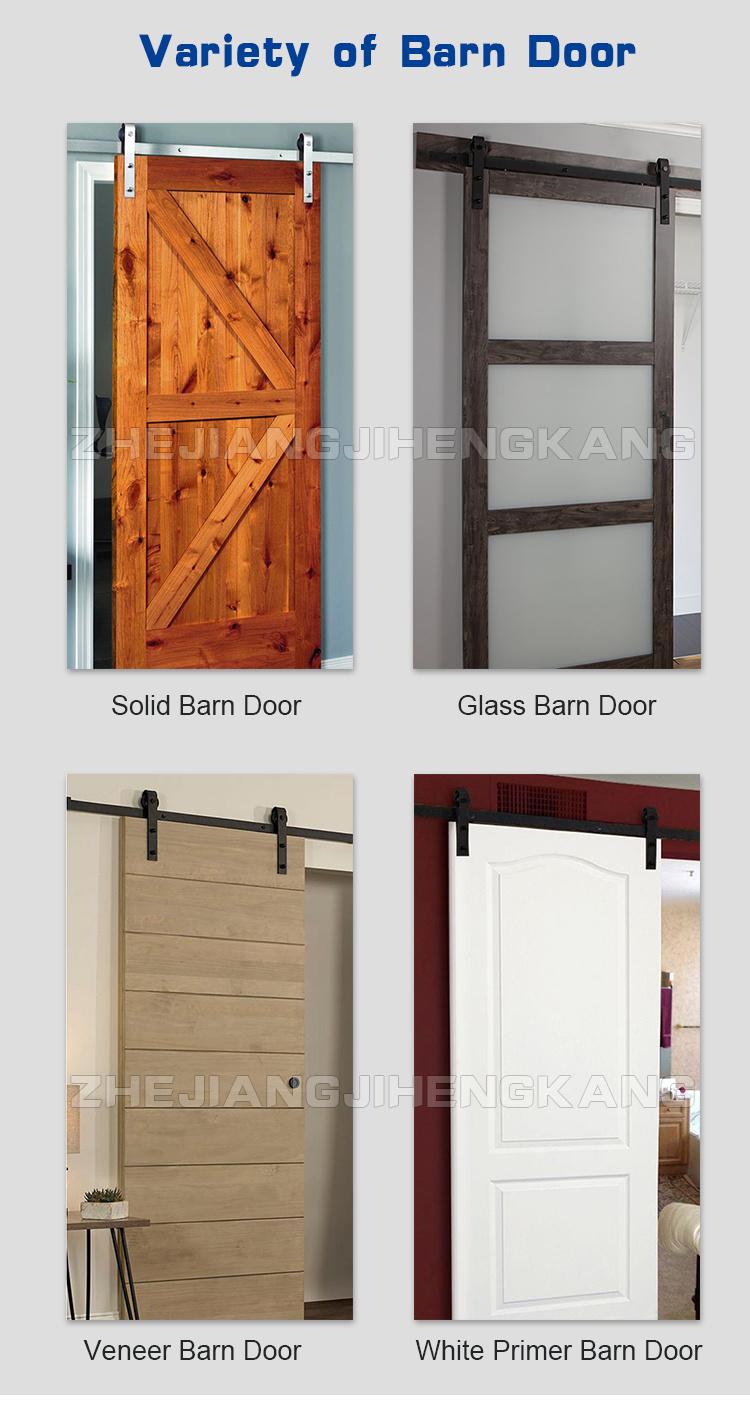 Kitchenbethroom Wood Sliding Glass Barn Door China Sliding