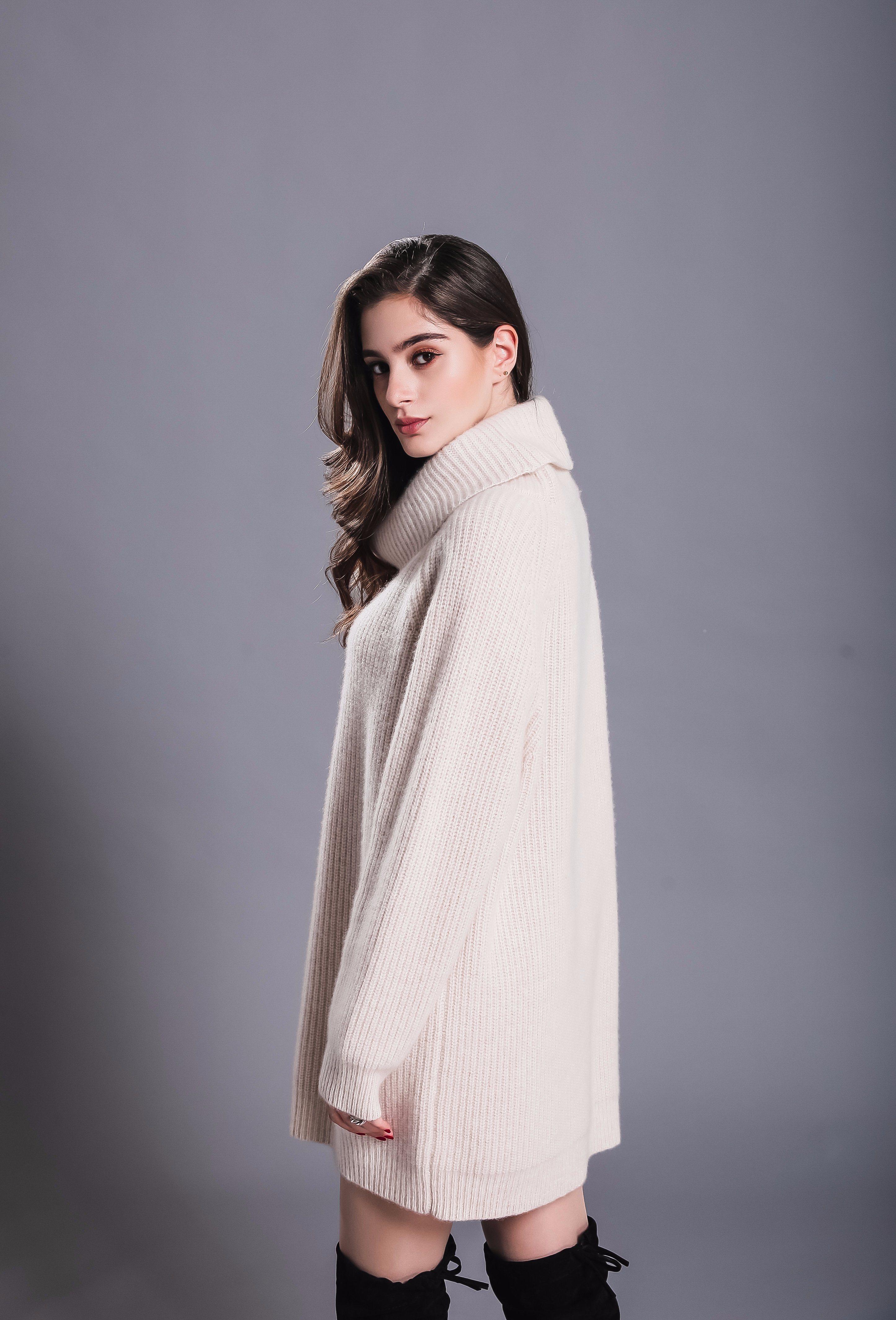 4b7e1dbe17a41 Wholesale Latest Fashion Clothes Women/Ladies Winter Wool Cashmere ...
