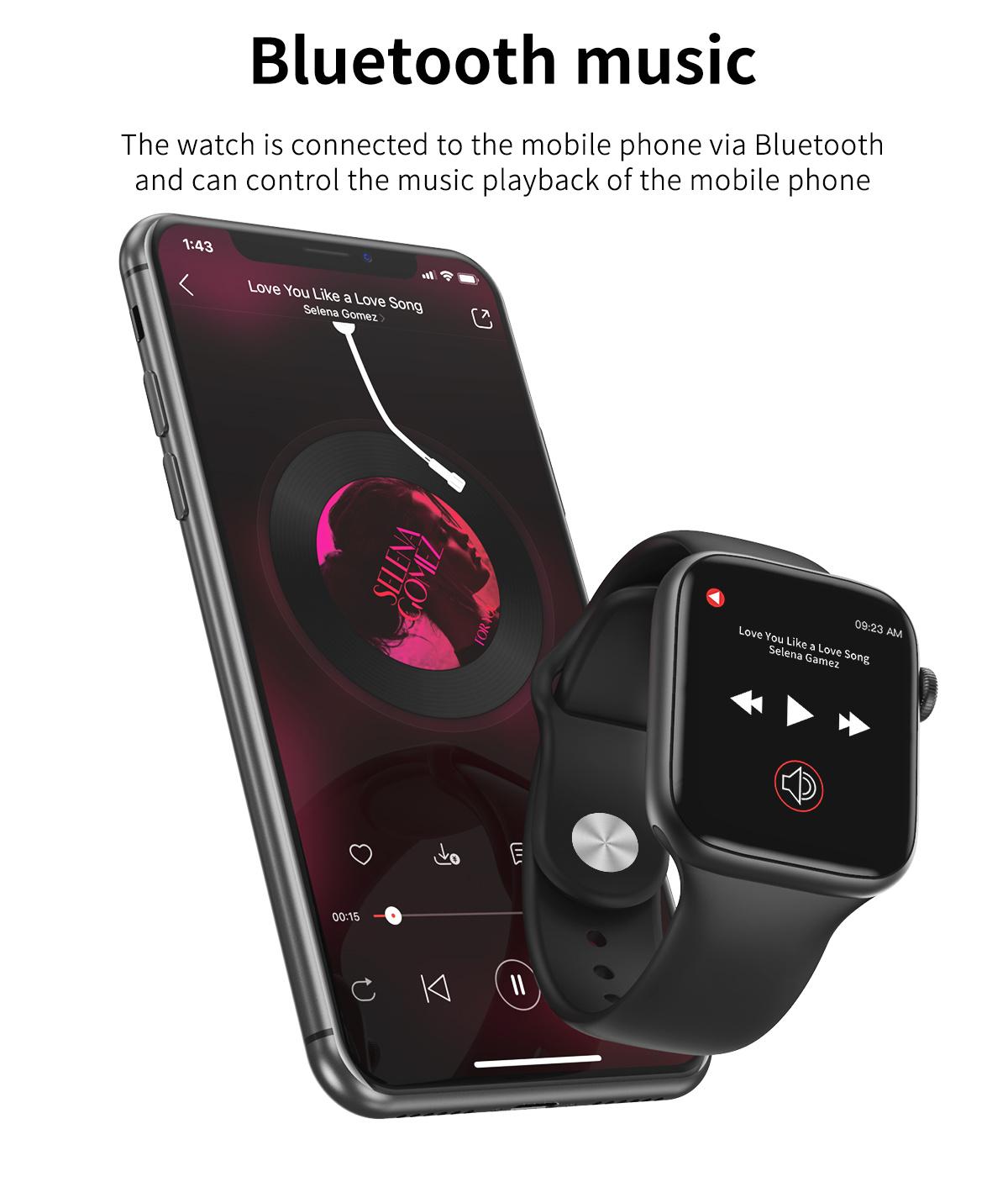 Good Waterproof IP67 Full Touch Screen Smartwatch
