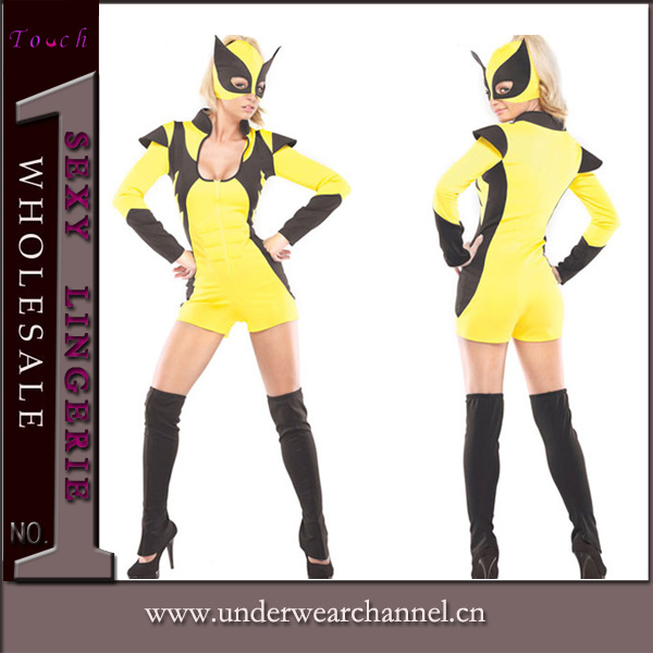 Role playing cosplay carnaval halloween sexy costume de super h ros adulte role - Costume de super heros ...