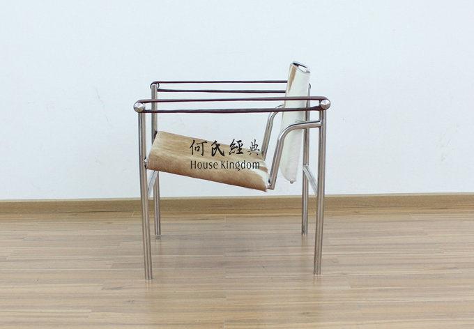 Sedia di basculant ispirata da le corbusier lc1 sedia - Sedia le corbusier ...
