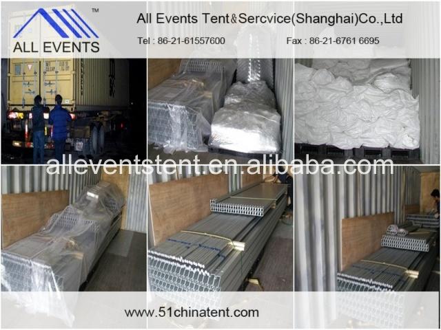 Упаковка и перевозка груза Our Большая ширина Double Decker Event Tents 20m для венчания