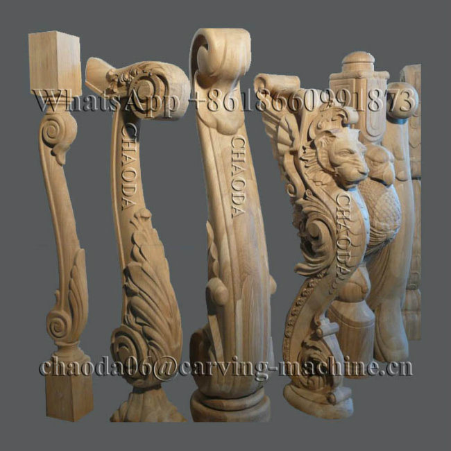 Cnc Router 5 Axis Cnc Wood Carving Machine For 3d Corbel
