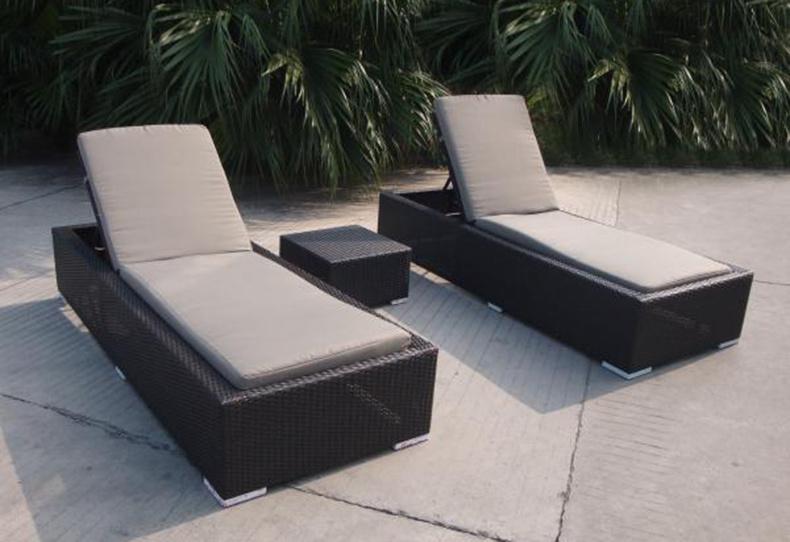 Salon de jardin pliable balcon plage Sun Fauteuil inclinable –Salon ...