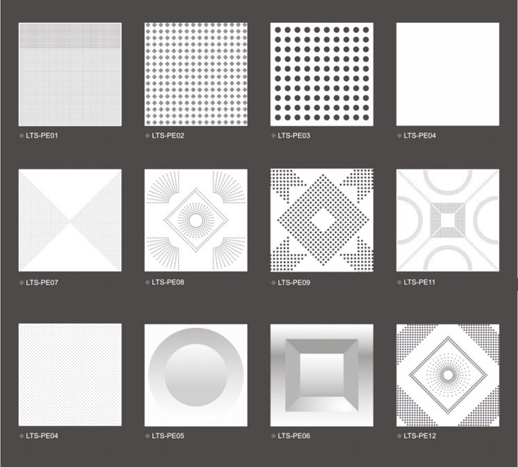 2018 Fireproof Aluminum Ceiling Tiles 600x600 China Aluminum