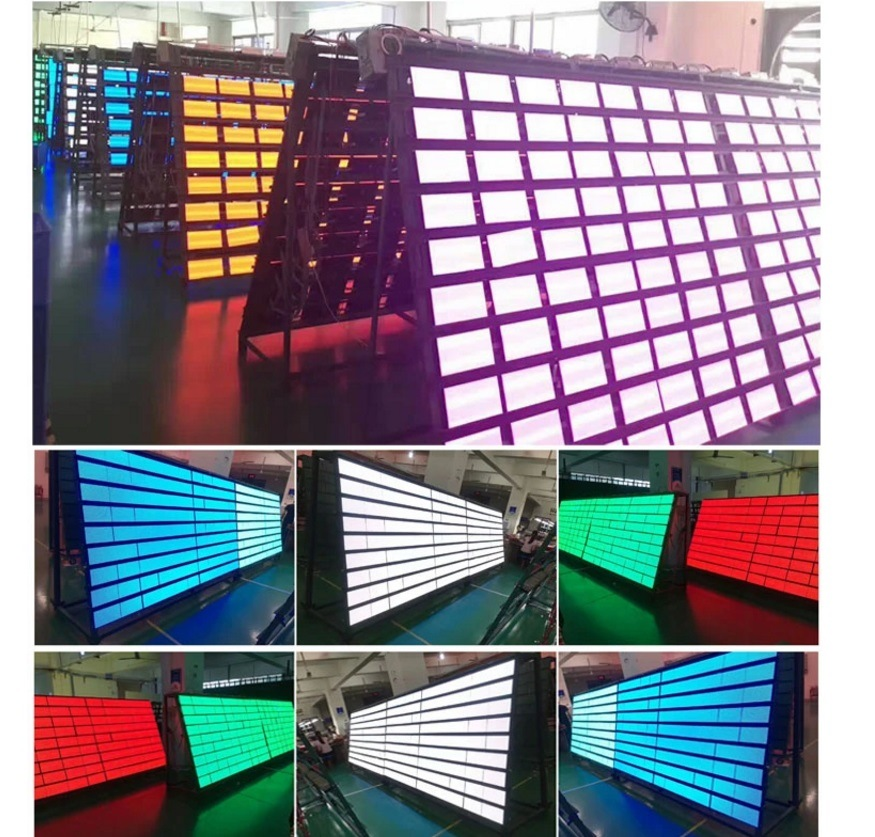 P3.3/P4/P5/P6 / P8 /P10 Outdoor Full Color Advertising Waterproof LED Display Screen