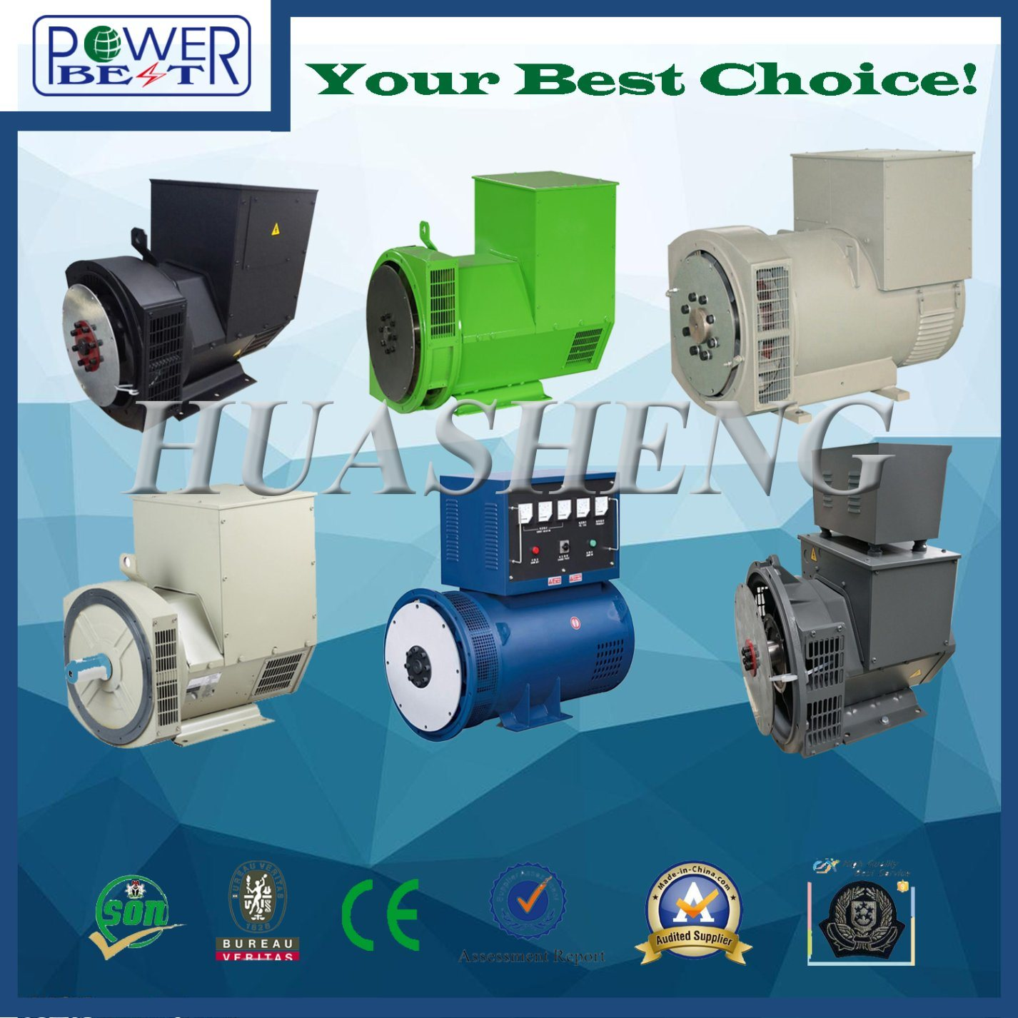 Stamford Brushless Dynamo Generator Ac Alternator China Motor Simple Electric Design Generators And Dynamos 2easy Paralleling With Mains Or Other Standard 2 3 Pitch Windings Avoid Excessive Neutral Currents