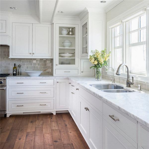 Modular moderno de madera maciza MDF acrílico cocina exterior de PVC ...