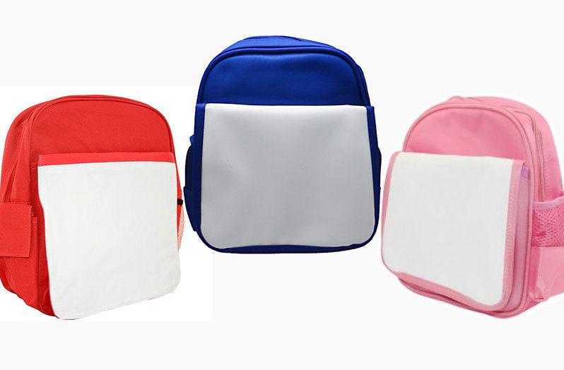 8a97749001 Blank Sublimation Kids Backpack Children School Bag - China ...