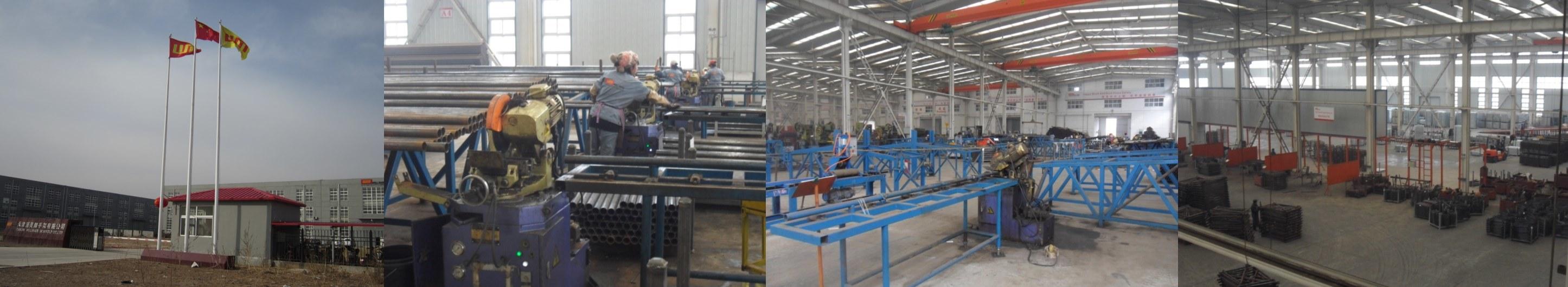 Galvanized Scaffolding Steel Planks Supply to Kuwait Knpc (225X38mm)