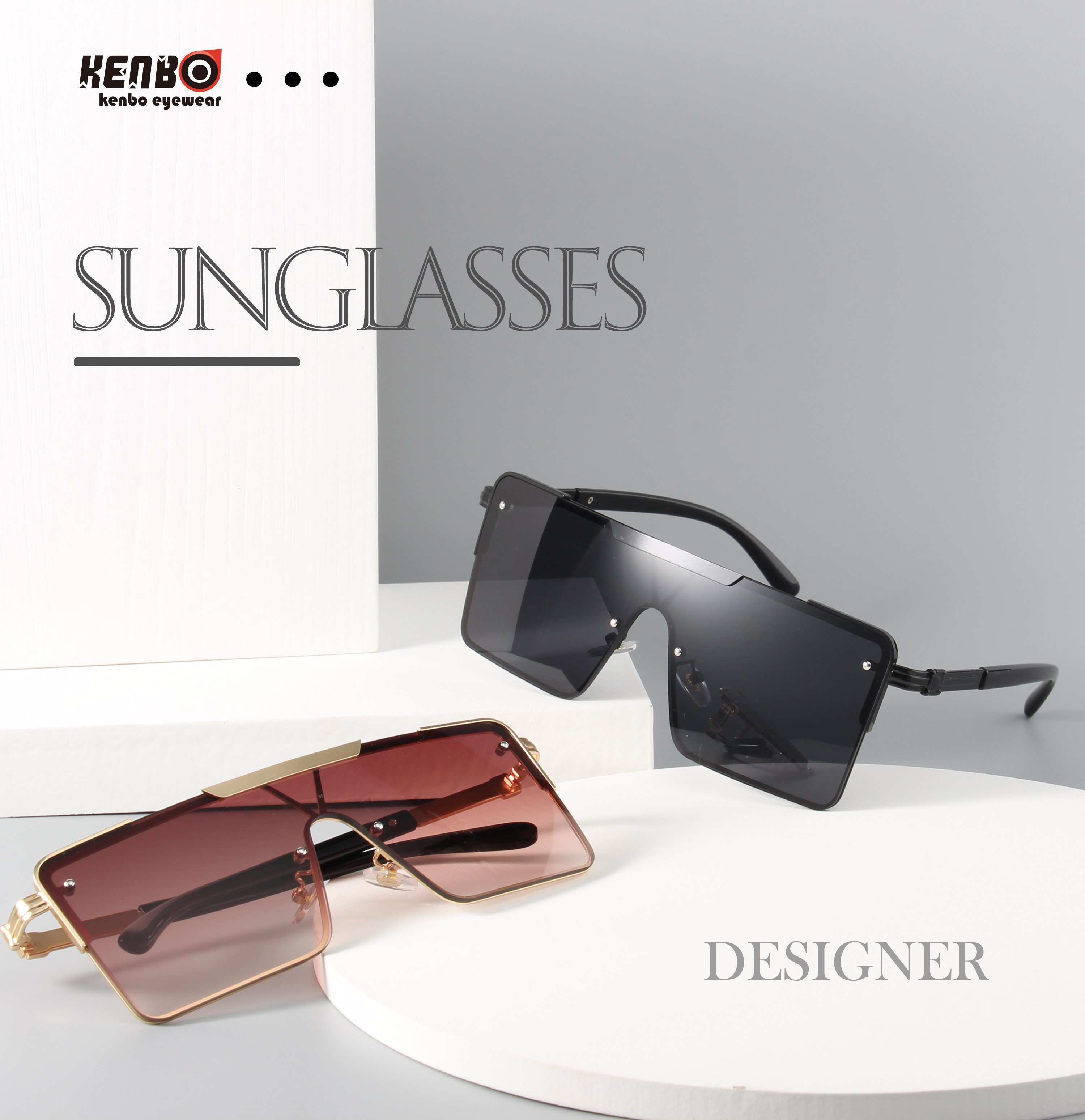 Kenbo Eyewear 2021 New Arrivals Oversized Shades Sunglasses Fashion Style Big Frame Cool Sun Glasses Unisex China Uv Protection Sunglasses And Cheap Sunglasses Price Made In China Com