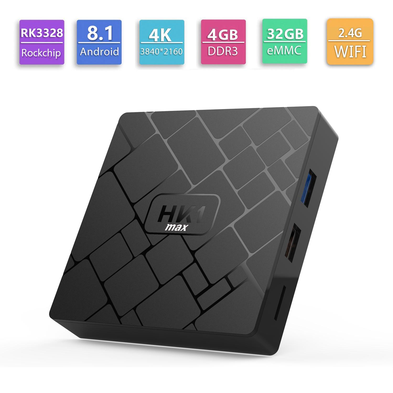 Rk3329 Ubuntu Mini PC HK1 Max Xbmc Chrome Cast TV Internet Box Quad Core  Firmware Android Box TV