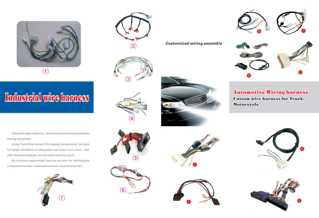 4 Pin Automotive Motor Engine Extension Cable Wiring Harness China Custom If You Cant Find The Exact Product Need In Picturesplease Dont Go Awayjust Contact Me Freely Or Send Your Sample And Drawing To Us