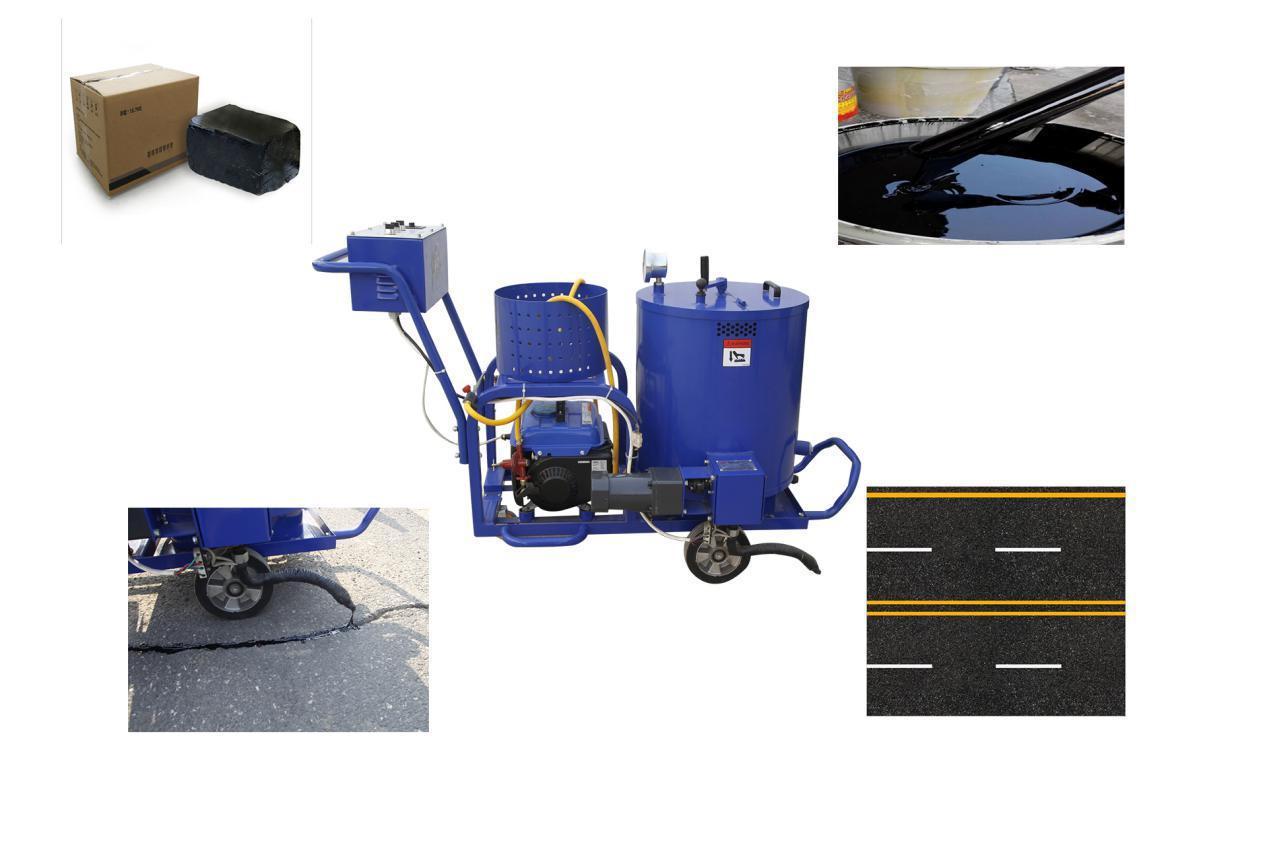 Automatic Road Repair Machinery Pavement Patching Asphalt Crack Filling  Machine