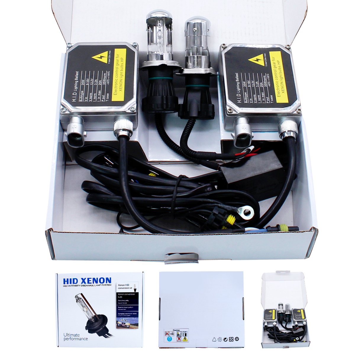 Limastar Hid Xenon Bulbs D2s D2r D4s D4r 6000k White Conversion Kit Wiring Diagram 3 Short Voltage Protection Test 4 Over 5 Flash Impact No Flashing During Steady Status