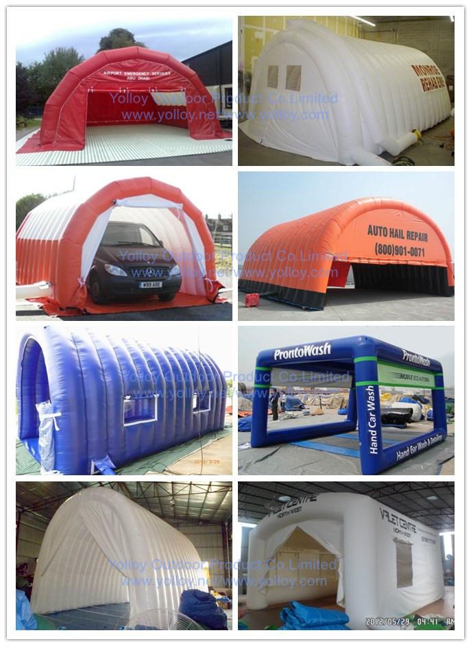 Sauter garage de r paration de voitures tente gonflable for Tente garage auto