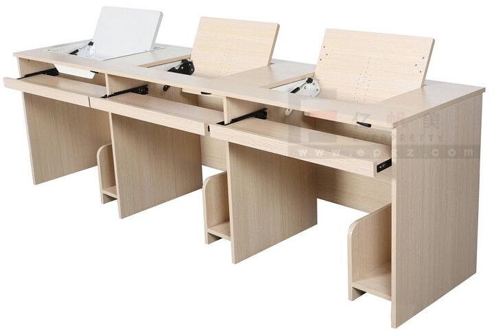 Triple roulement étudiant ordinateur de bureau pour la chambre