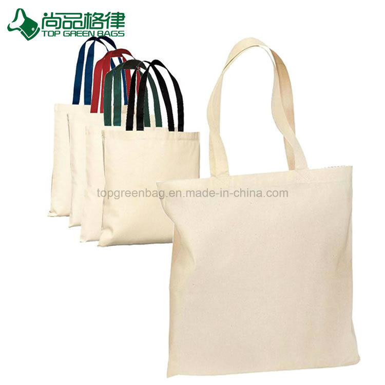 70b46d7775c [Hot Item] High Quality Promotional Reusable Cotton Canvas Tote Bags  W/Gusset